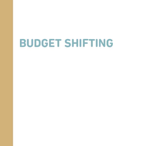 reputable site 1301b c60af Budget shifting guidelines clarified