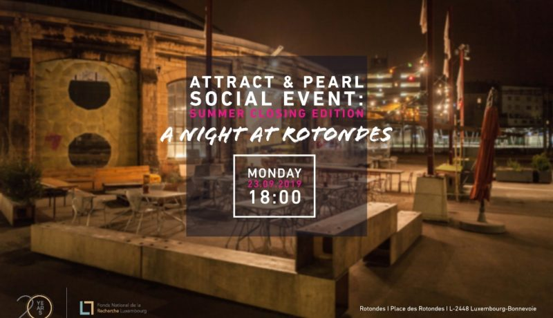 ATTRACT & PEARL Social Event 2019